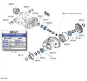 ATV Parts Side By. Bk3010 Kawasaki Rear Differential Kit. Kawasaki. Kawasaki 3010 Mule Rear Differential Parts Diagram At Scoala.co