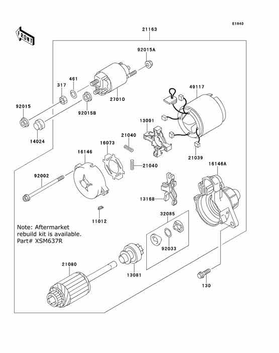 kawasaki mule parts diagram