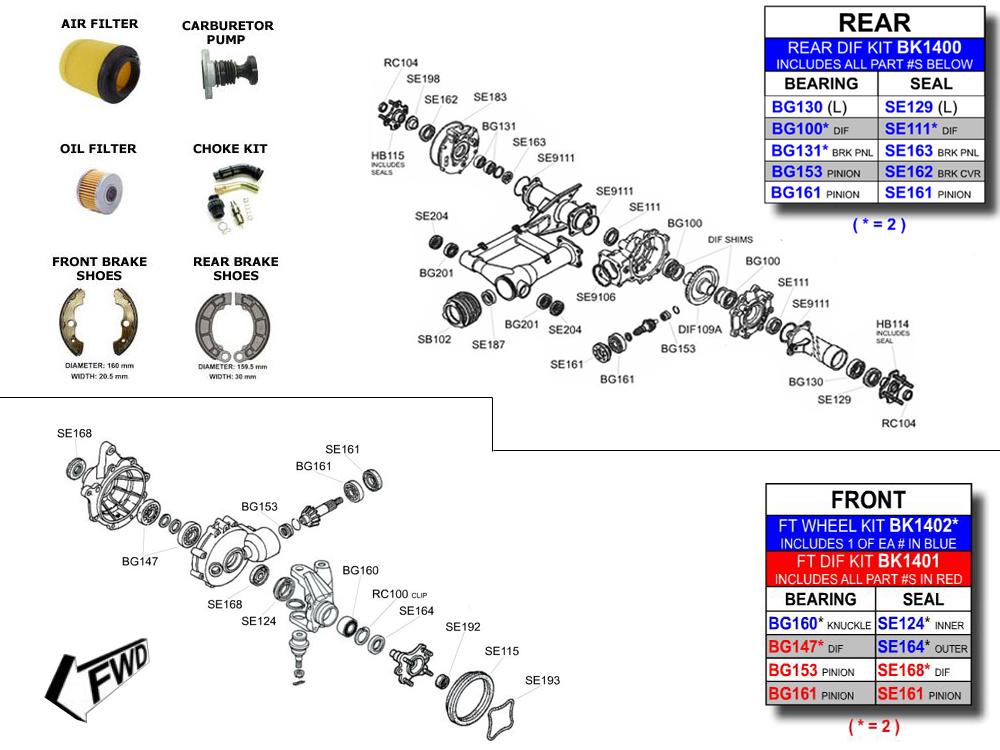 check valve how works diagram atvworks.com trx400/450 rancher parts diagram