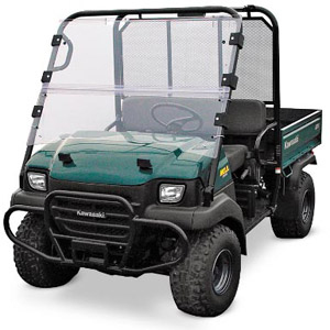 P2317-0089 Kawasaki Mule 3000 Plastic Hinged Windshield
