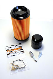 POLARIS 06-07 200 Sawtooth Air filter Oil Filter /& Spark Plug