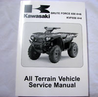 99924-1363-08 Kawasaki Brute Force 650 Service Manual KVF650F