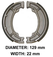 Brake Shoes for Kawasaki