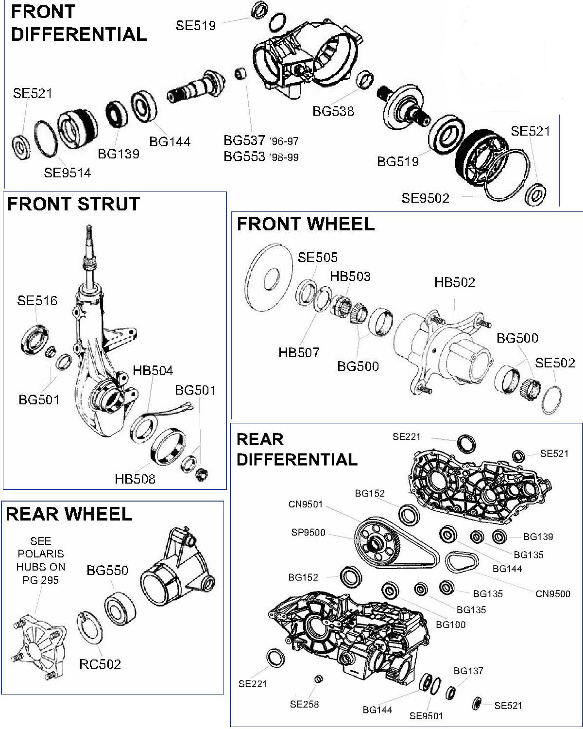 Polaris Scrambler Wiring Diagram Diesel Will Be A 2004 500 Sportsman 6x6 Parts Rh Atvworks Com 400 90