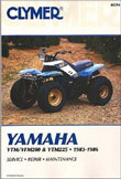 XRM394 Yamaha YTM/YFM Repair Manual