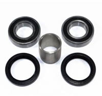 Kawasaki Mule Front Wheel Bearings, Seals, & Spacer / Collar Kit