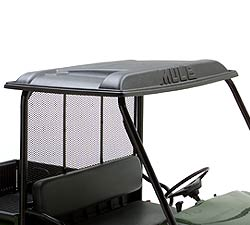 KAF30-030A Kawasaki Mule Hard Top Roof Black